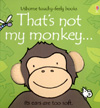 Picture of the book cover for That's Not My Monkey.