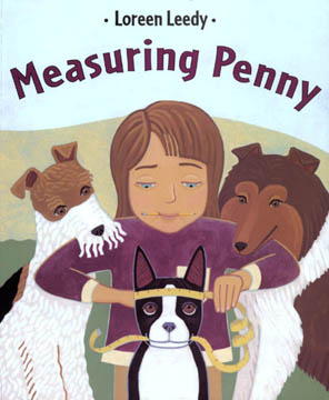 Activity page for Measuring Penny Book