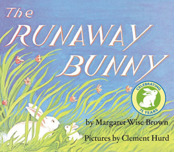 Book cover for The Runaway Bunny