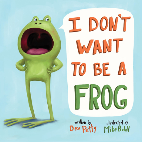 Picture of I Don't Want to Be a Frog