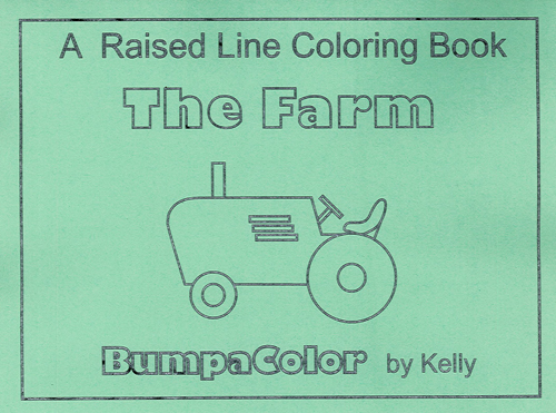 Picture of The Farm (Raised Line Coloring Book)