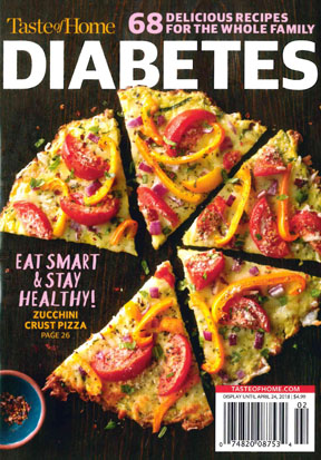 Picture of Diabetes: 68 Delicious Recipes for the Whole Family