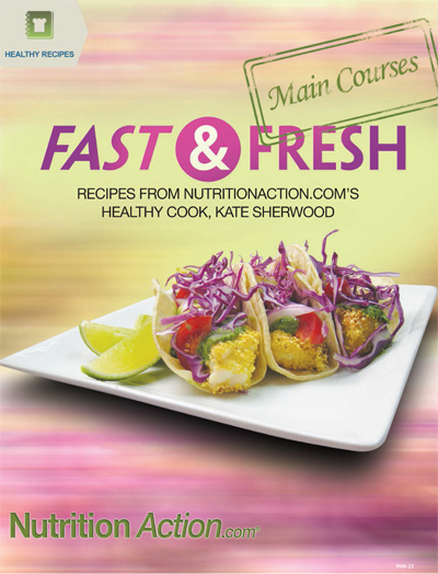 Picture of Fast & Fresh Main Courses (Healthy Recipes)