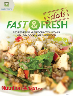 Book cover for Fast and Fresh Salads