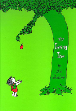 Photo of the giving tree book
