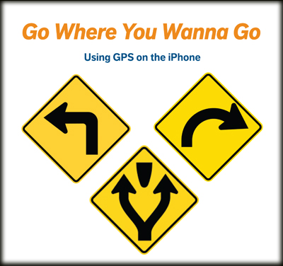 book cover for go where you wanna go shows three street signs pointing in different directions.