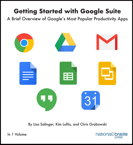 The Google suite books cover