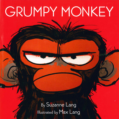 book cover of grumpy monkey