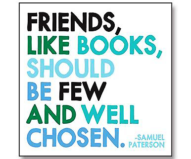 Picture of Magnet: Friends, Like Books...