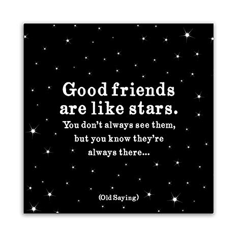 Picture of Magnet: Good friends are like stars