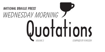 Picture of Wednesday Morning Quotations - Volume 2