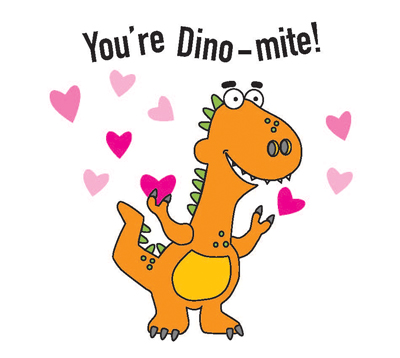 Picture of Valentines 2020 (Dino-mite) 20 Count