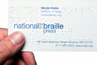 Nbp Braille Printing For Business
