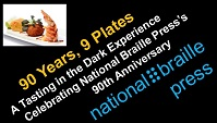 Logo for 90 Years, 9 Plates for NBP's 90th Anniversay Celebration.