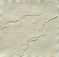 photo of map of the northeast.