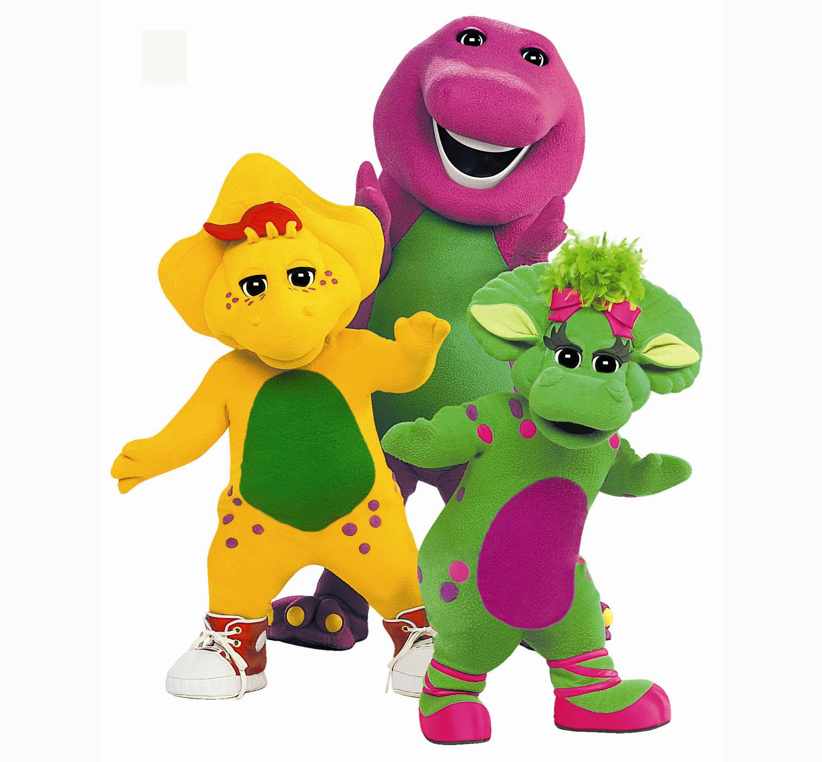 Photo of Barney and friends.