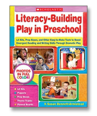 Book cover for Literacy-building play in preschool
