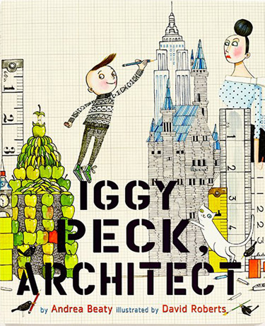 Activity page for Iggy Peck Book