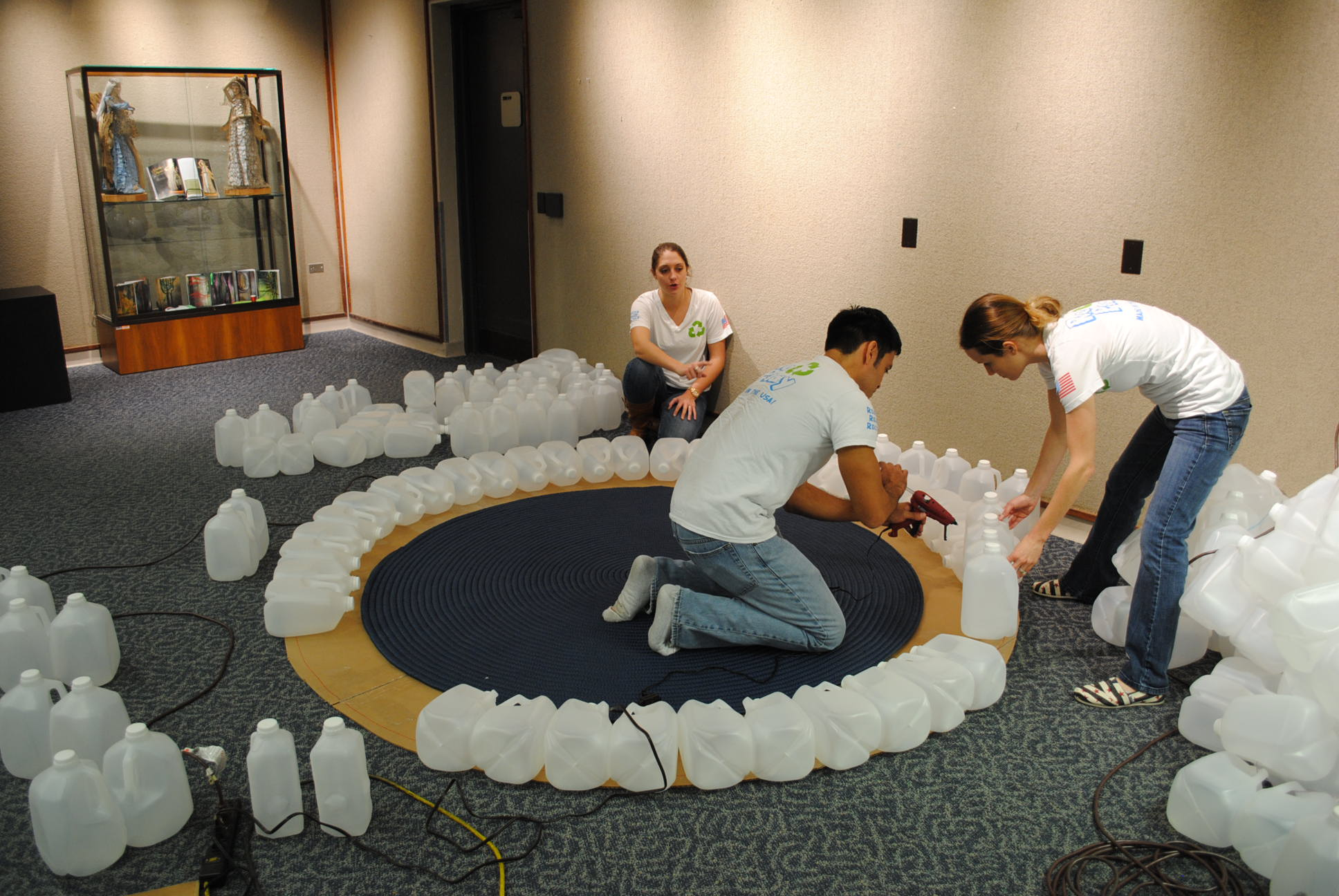 Five easy team building activities great expectations for How to build an igloo out of milk jugs