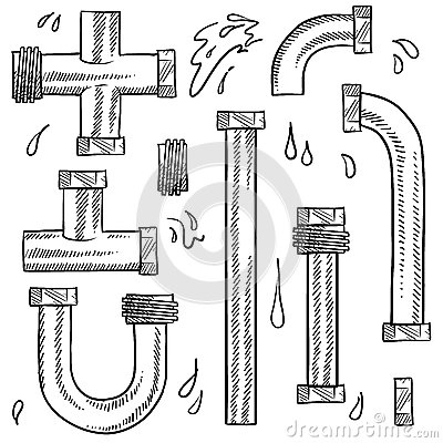 Drawings of pipes