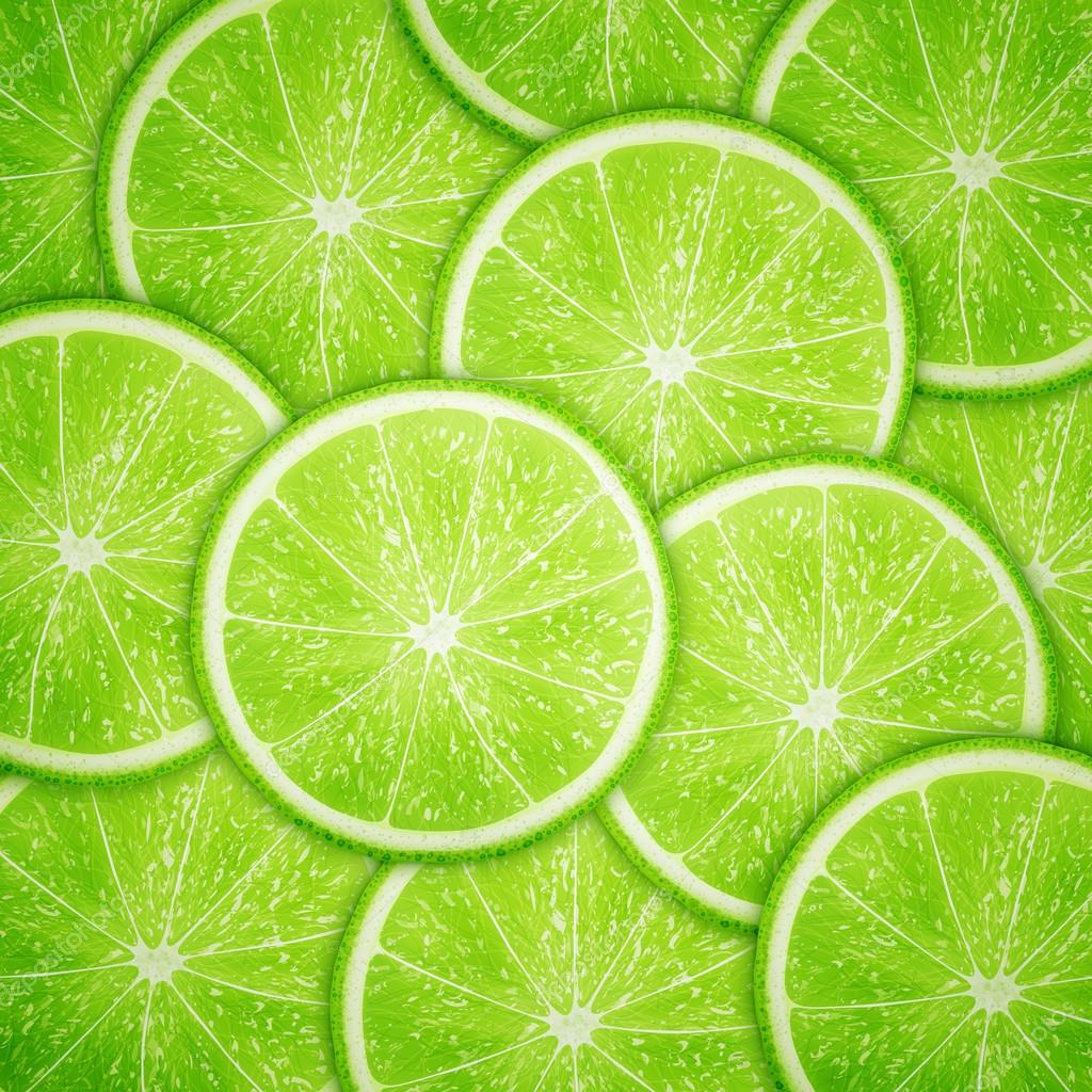 slices limes