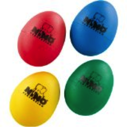 Picture of 4 colorful shaker eggs