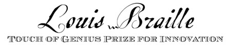 The Touch of Genius Prize logo.