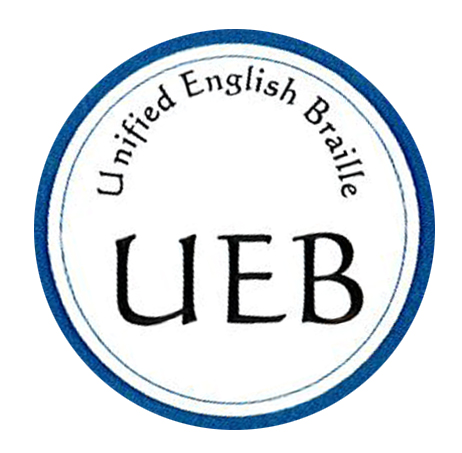 NBP's sticker that identifies UEB code on book covers