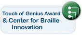 Learn about the Center for Braille Innovation